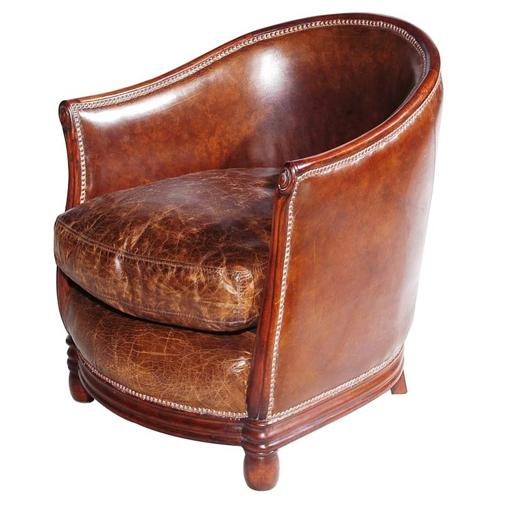Best Chairs Images On Pinterest Tub Chair Tubs And Living - Tub chairs leather