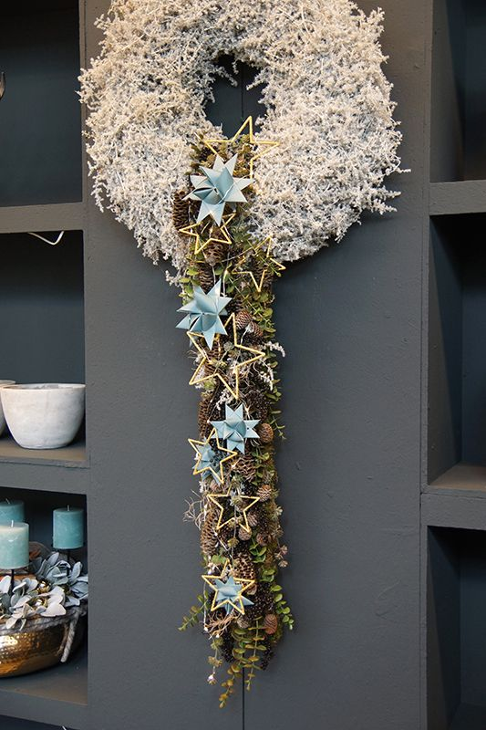 250 best wreaths just unique images on pinterest christmas deco floral crowns and floral. Black Bedroom Furniture Sets. Home Design Ideas