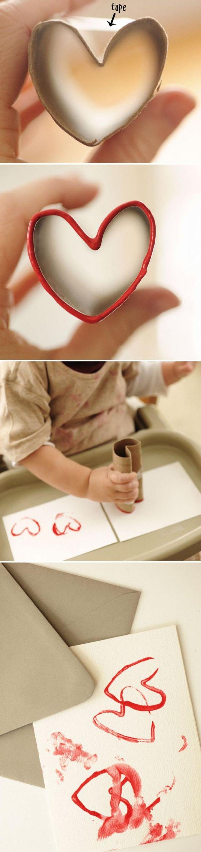 On peint avec les mains pour la Saint-Valentin! 10 nouveaux modèles! - Idées cadeaux - Trucs et Bricolages