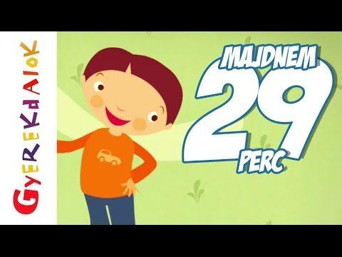 Gyerekdalok egybefűzve (gyerekdalok, rajzfilm gyerekeknek) - YouTube