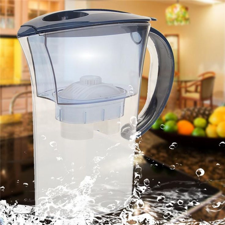 Alkaline Water Pitcher Pure Healthy Mineral Water Lonizer Filter Jug Home Office Drink Jug Water Bottle