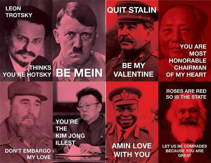 Tyrannical valentines day cards!