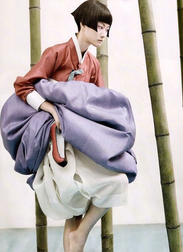 BAMBOO BEAUTY KIM KYUNG SOO FOR KOREAN VOGUE