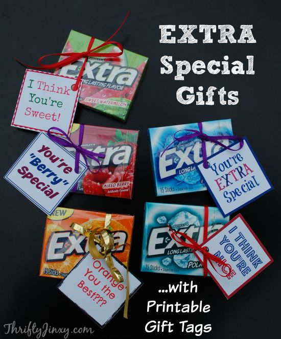Extra special little gifts with EXTRA Gum #ExtraGumMoments #ad