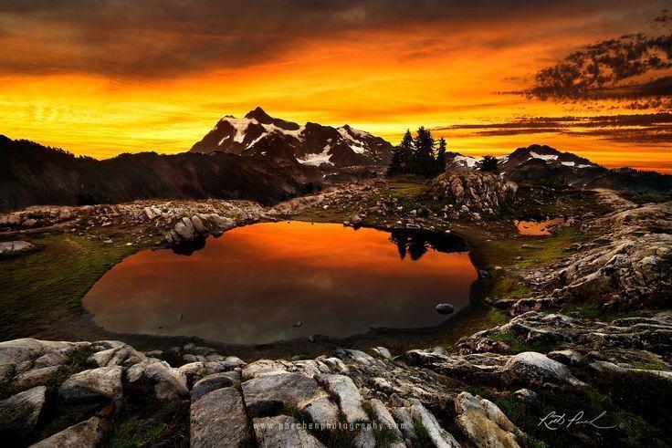 Foto Shuksan Sunrise von Rick Parchen auf 500px – # 500px #Parchen #Photo #Rick …