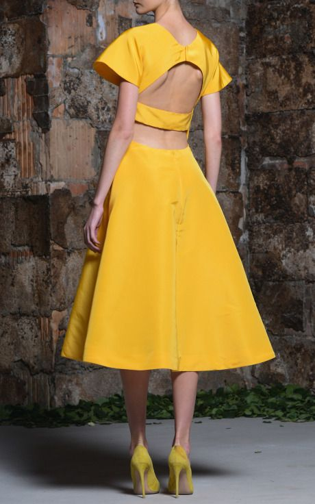 Rosie Assoulin Resort 2015 Trunkshow Look 28 on Moda Operandi