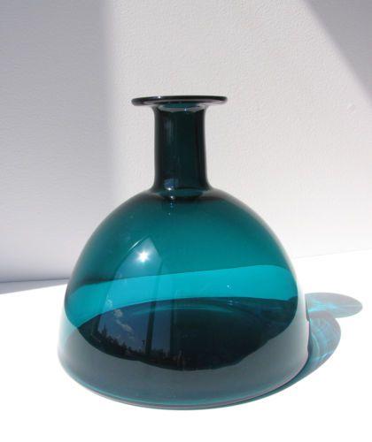 Beautiful Mid Century per Lutken 1961 Holmegaard Glass Vase Danish Modern | eBay