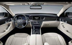 2017 Hyundai Genesis Interior