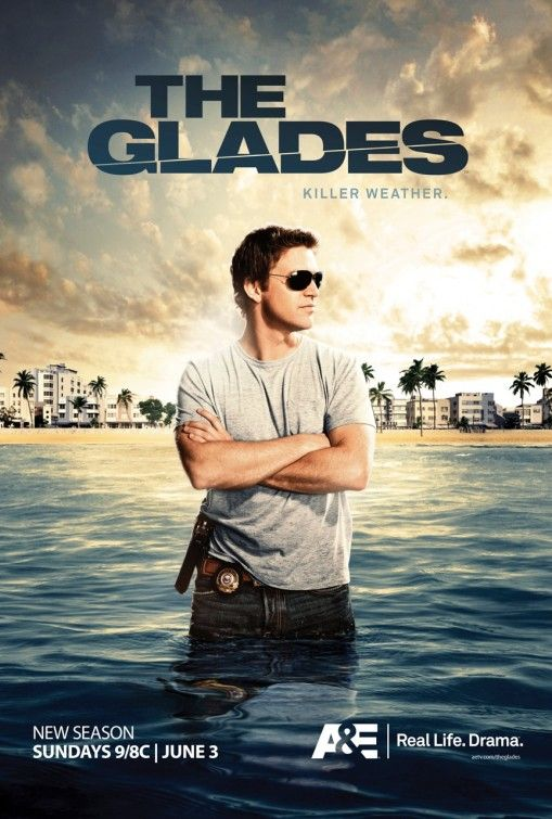The Glades. It's finally back today!! :D