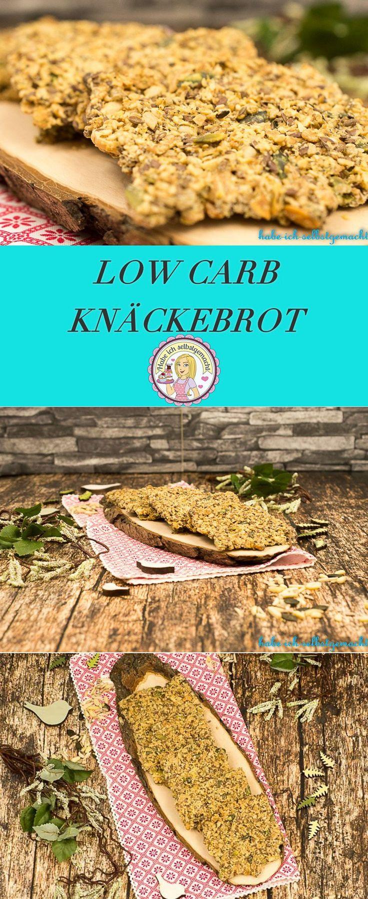 Rezept Low Carb Knäckebrot