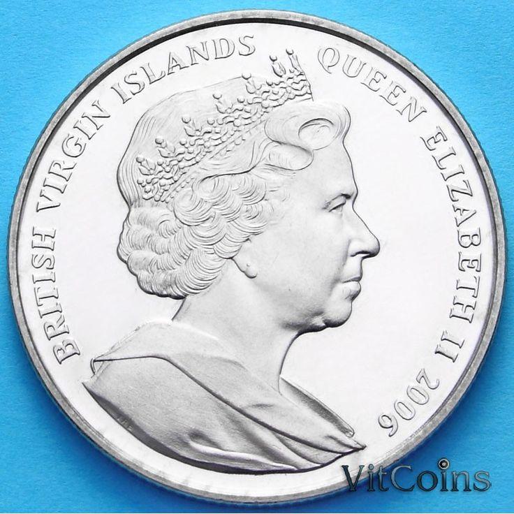 Британские Виргинские О-ва : Британские Виргинские острова 1 доллар 2006 г. Леонардо да Винчи