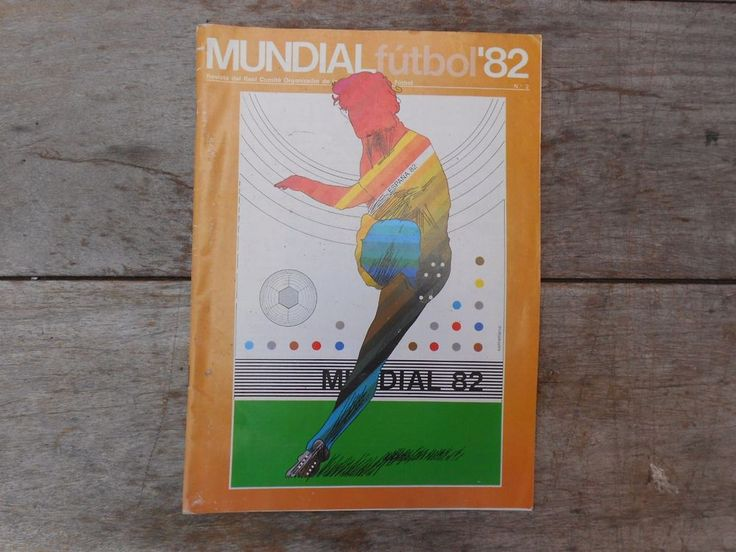 SPAIN 82 FIFA WORLD CUP Official ORGANIZING COMMITTEE publication #2  | eBay