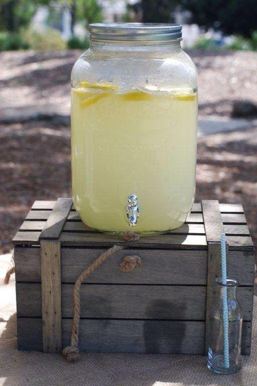 Lemonade Drink Dispenser - Drink Station by Sweet Soirees (www.sweet-soirees.com.au)