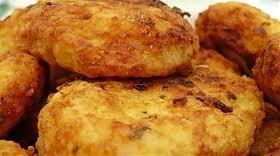 Parjoale de cartofi cu branza