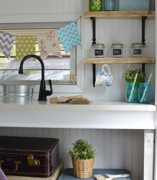 1000 ideas about decorating a camper on pinterest for Pop up camper interior designs
