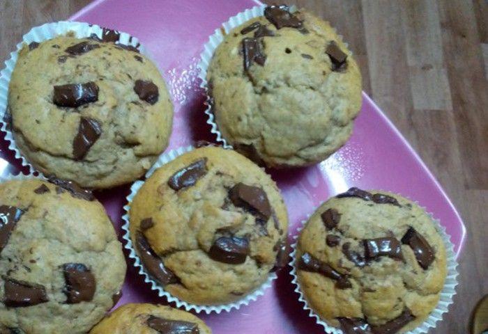 Banánové muffiny. Autor: Terezka