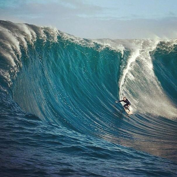 Big wave surfing!!!