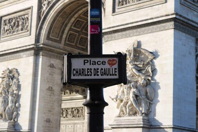 Charles De Gaulle, Paris France