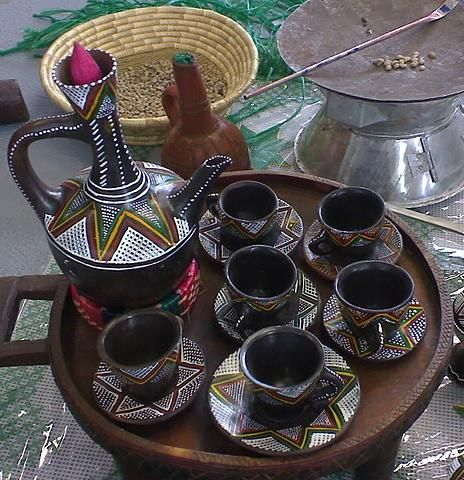 If you share my culture, you already know....Ethiopian coffee