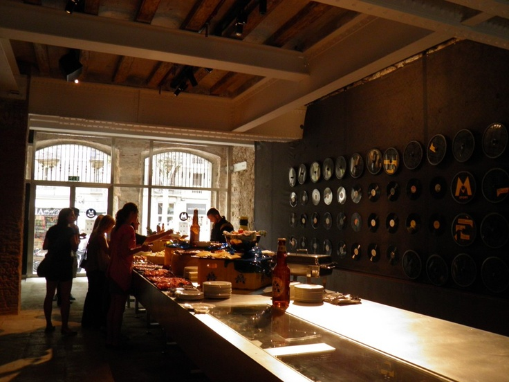 Music Kitchen, interesting event at Cervecería Moritz, Barcelona.