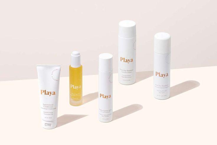 Playa Beauty Branding by Manual  https://mindsparklemag.com/design/playa-beauty-branding/
