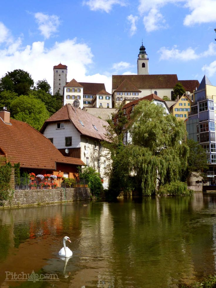 Explore the town of Horb am Neckar while staying at Freizeitpark Camping Schüttehof, Freudenstadt - Pitchup.com
