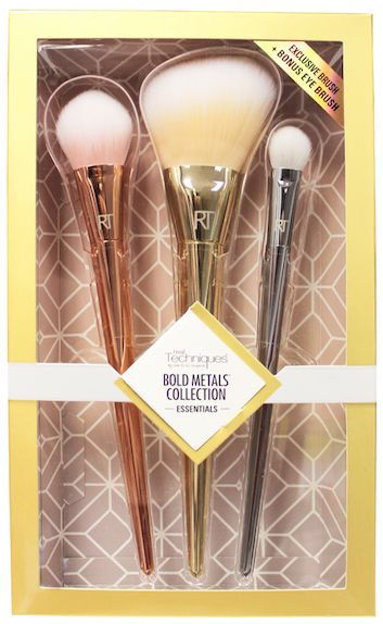 Real Techniques Bold Metals Essentials Brush Set