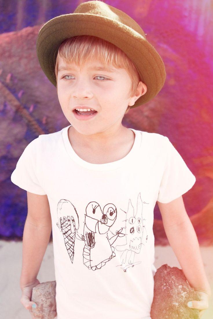 Ice cream monster t-shirt - Mini & Maximus.     Gezien op http://springstof.eu/shop/mini-and-maximus-ice-cream-monster-tee.html