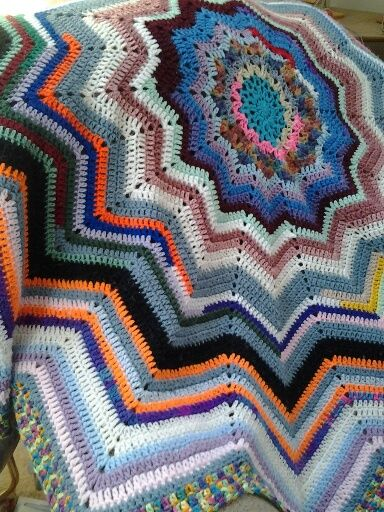 64 Best Crochet Round Ripple Afghans Images By Doris Yocum Turner On