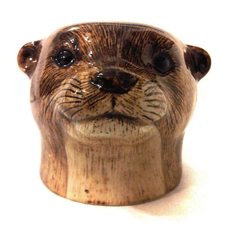 animal egg cup - otter