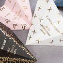 Folienpapier Flugzeug, Jubiläumskarte – paper