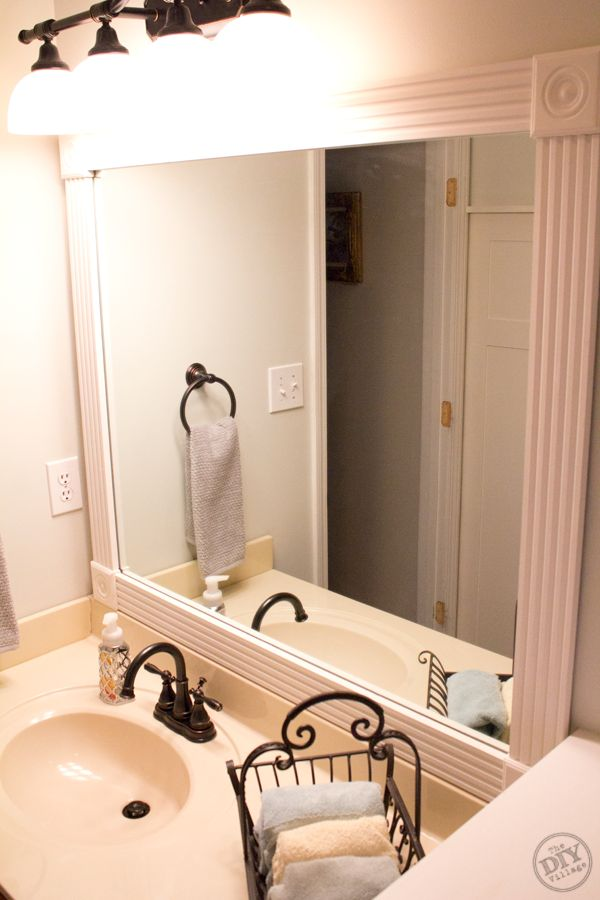 Bathroom Mirror Makeover Pinterest 22 best mirrors images on pinterest | painted mirrors, mirror