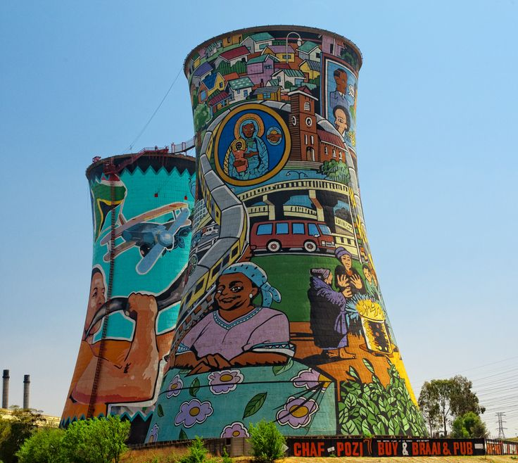 Orlando Towers - Soweto, South Africa