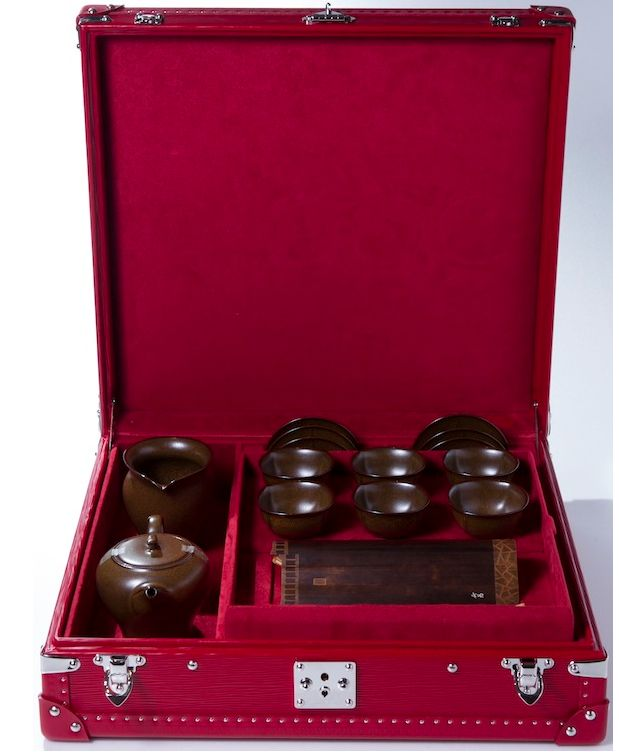 Louis Vuitton tea trunk