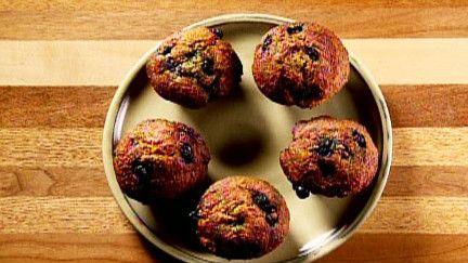 Muffins moelleux aux bleuets - Recettes - À la di Stasio