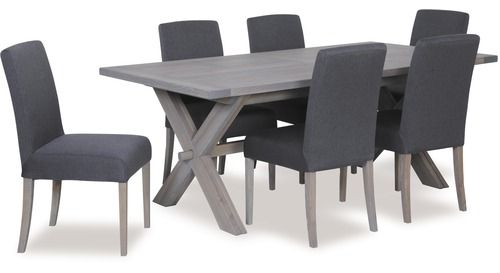 Tuscan 7-pce Extension Dining Suite