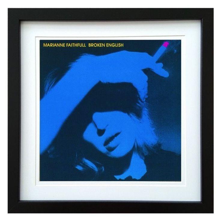Marianne Faithfull | Broken English Album | ArtRockStore