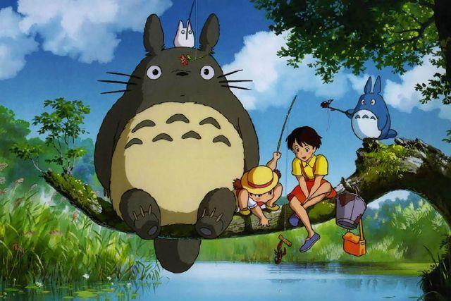 Les meilleurs #dessins animés pour #enfants: Mon voisin Totoro.