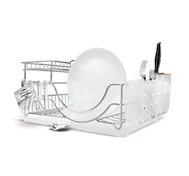 Simplehuman dish rack: Awesome Dishes, Dishes Dry Racks, Simplehuman Dishes, Dishes Caddy, Flip Tops Dishes, Dishes Racks, Flip Tops Dishrack, Boyfriends, Kitchens Organizations