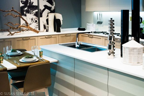 Whites, off whites, cool grays, warm grays-all are still trending and wood stains (for cabinetry) run the gamut from lighter than middle toned finishes to dark.
