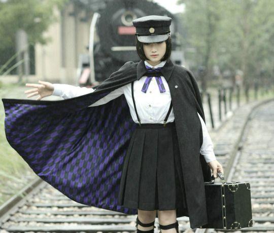 Taisho military-style male and female gakuran uniform - 2015