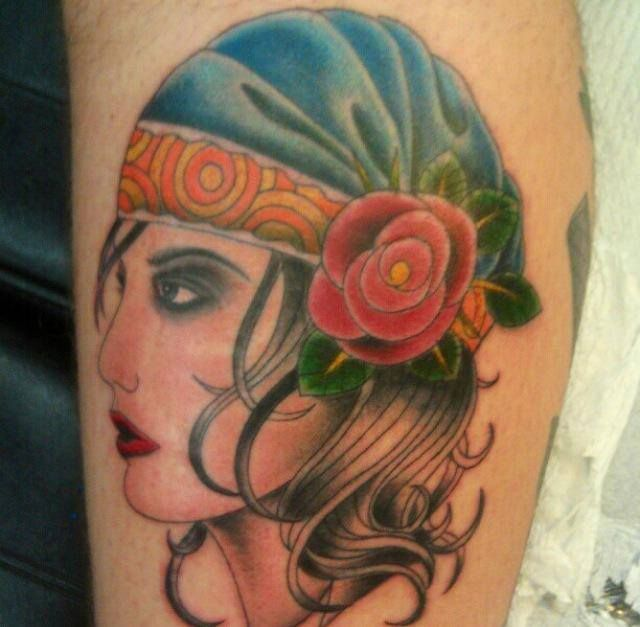 1000+ Ideas About Gypsy Girl Tattoos On Pinterest