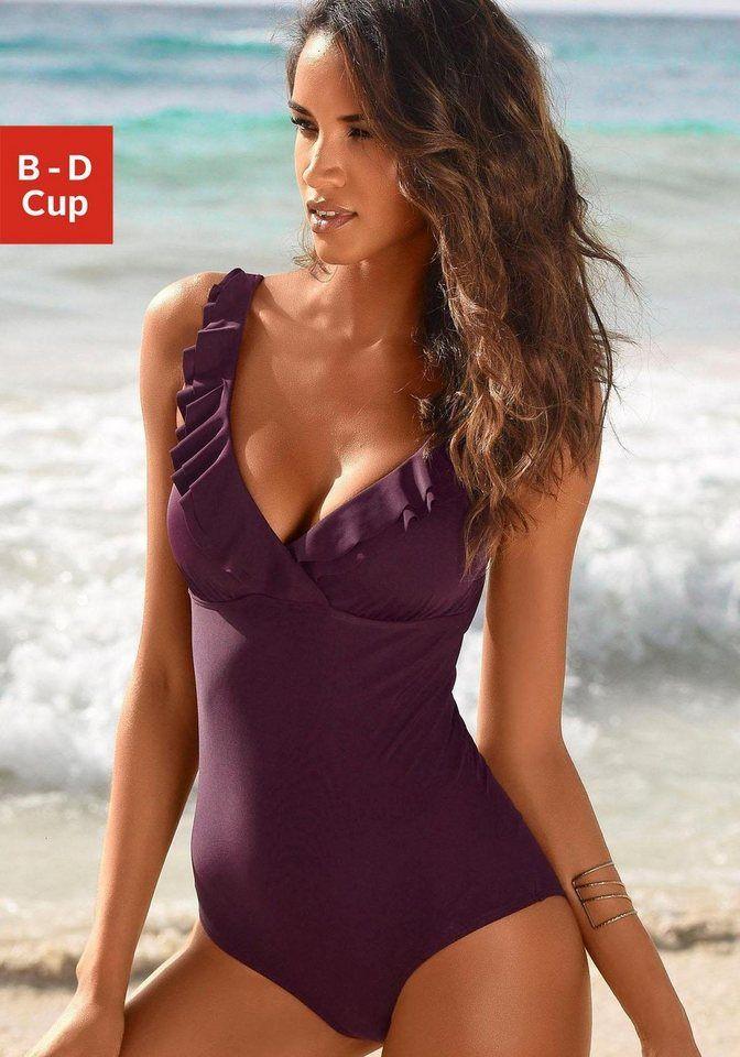 new style 30339 be3fd Jette Joop Badeanzug, mit eleganter Rüsche | Swimsuits n ...