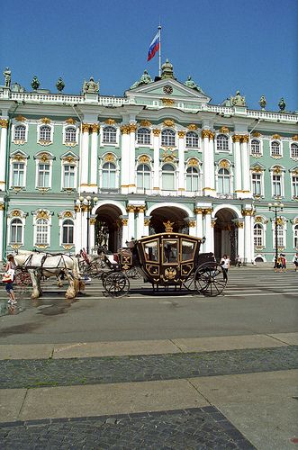 Places - Hermitage St. Petersburg, Russia. One of the most magnificent places I have been