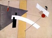 Proun 12 E, 1923  by Eliezer (El) Markowich Lissitzky
