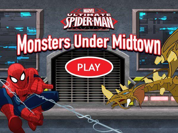 Ultimate Spider-Man: Monsters Under Midtown edited