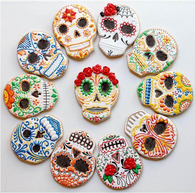 """""""Dia de los Muertos Cookies""""~"""