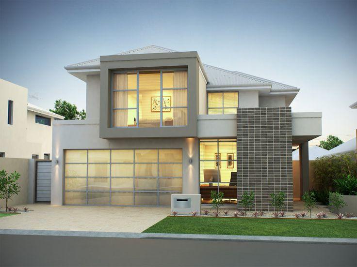 fachadas de casas modernas 2 andares