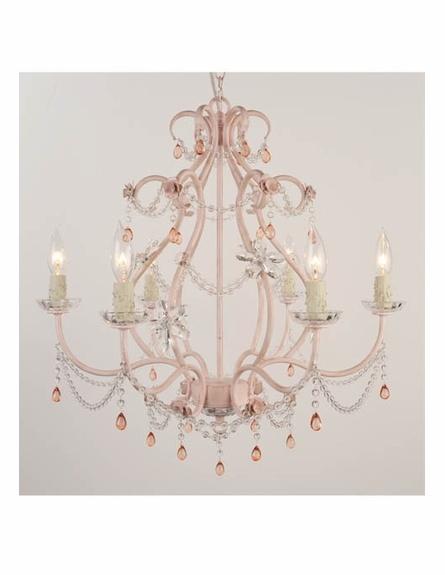 Eleanor Antique Pink Chandelier
