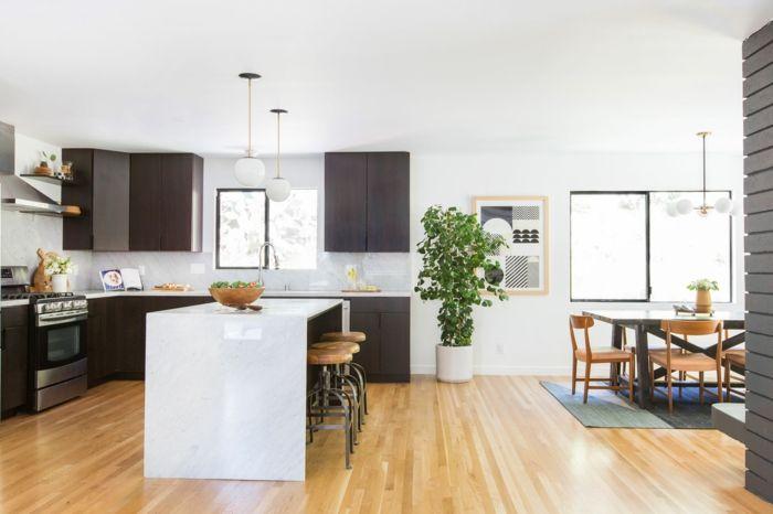 1001 Idees Charmantes Pour Votre Parquet De Cuisine Home